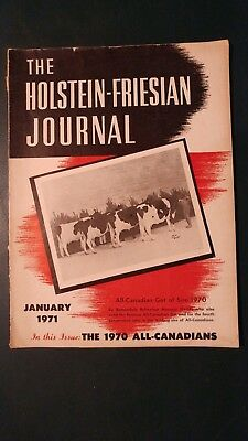 Holstein Journal 1971 The 1970 All-Canadian Awards + Roybrook + All-Japan Show