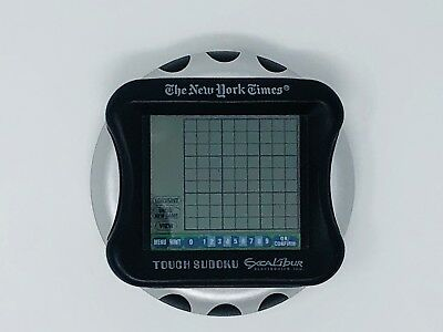 The New York Times Touch Screen Sudoku Excalibur Electronic NY53 Handheld Travel