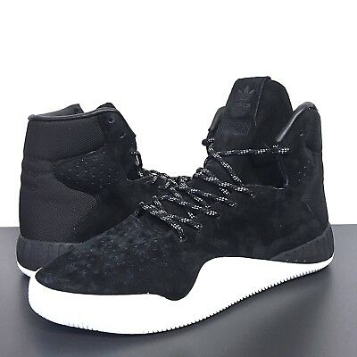 ADIDAS Mens Originals Tubular Instinct S80085 Black Hightop Sneakers (MSRP $120)