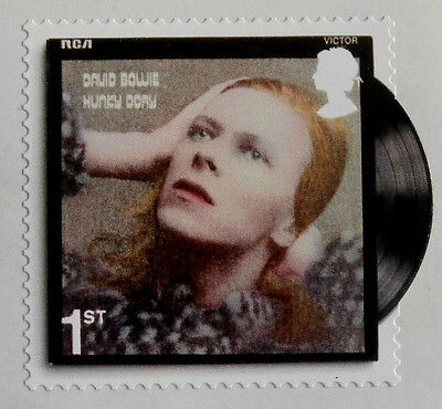 DAVID BOWIE - Individual ROYAL MAIL First Class postage stamp - MINT