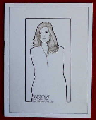 DAVID BOWIE - Individual Trading Card - Card #03 - 30 April, Plymouth Guild Hall