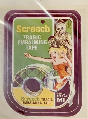 1975 Topps Vault Wacky Packages 13th Series Production Photo SCREECH TAPE
