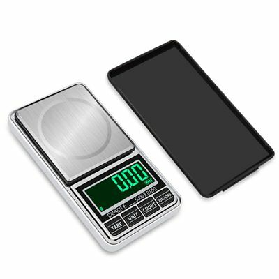 Digital Pocket Jewelry Weigh Scale High Precision USB Charging 1000g/0.1g GY