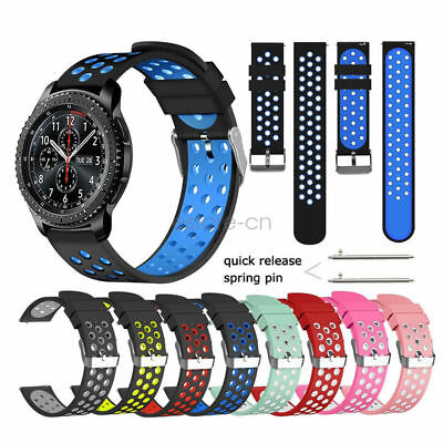 Replacement Soft Silicone Sport Loop Bracelet Watch Band Strap For Fitbit Versa