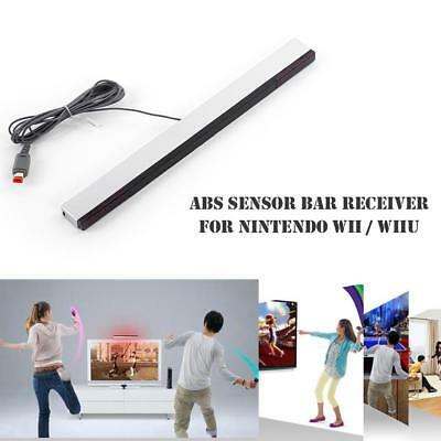 US Wired Remote Motion Sensor Bar IR Infrared Ray Inductor for Nintendo Wii/WiiU