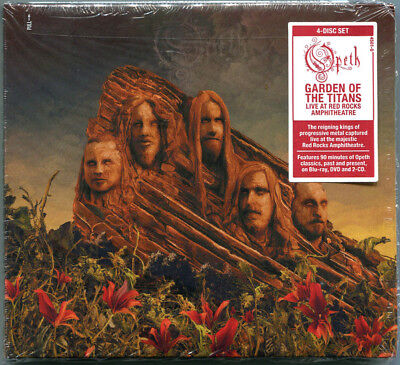 OPETH - Live at Red Rocks - Garden Of The Titans 4 CD DVD BLU-RAY Digisleeve Set