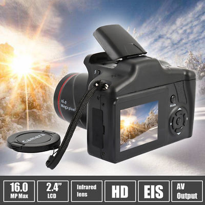 Professional Display 16X Zoom HD 16MP 1080P Digital Camera Video Camcorder DVR