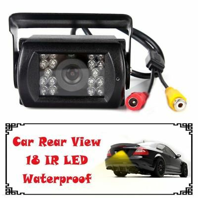 Waterproof 18 IR LED Night Vision Car Rear View Reversing CCD Camera Security