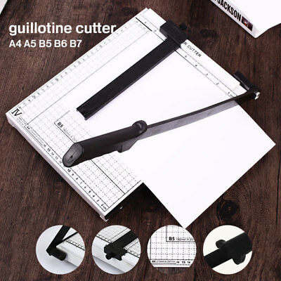 7043 Convenient Paper Card Photo Office Guillotine Heavy Duty
