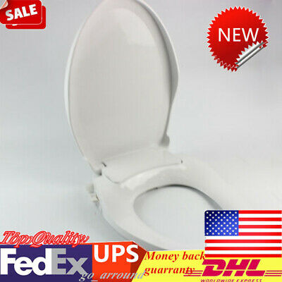 Remarkable Non Electric Elongated Toilet Bidet Seat With Cover Self Pabps2019 Chair Design Images Pabps2019Com