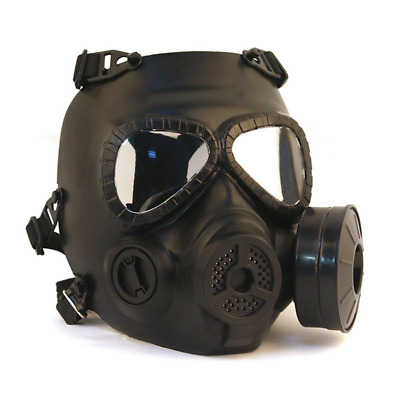 Airsoft Gas Mask Filter Fan CS Edition Perspiration Dust Face Guard Mask