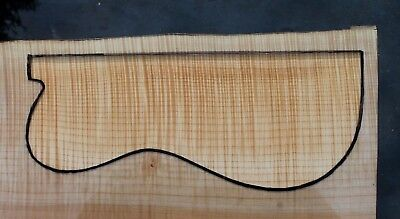 "Awesome 5A Curly Maple 21 3/4"" X 10"" X 2 1/16"": Guitar, Luthier, Craft"