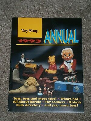 "Vintage Toy Shop 1993 Annual by Krause Publications First Edition 1992 8x11"" 82p"