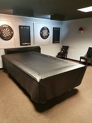 7ft Pool Table Cover, Heavy duty Professional Cover, Weatherproof Made In The Uk