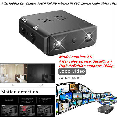 Home Surveillance Electronics Mini Hidden Spy Camera 1080p