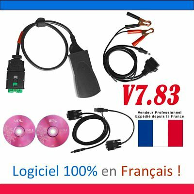 Full Chip Lexia3/PP2000 Diagbox V7.83 Interface Diagnostique OBD Citroen PeugeNG