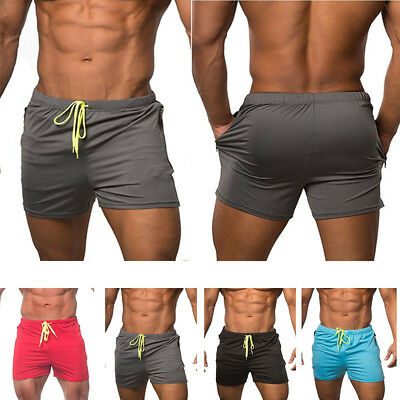 HOT Men's swimwear Sports Gym Run shorts casual summer beach pants Board Short