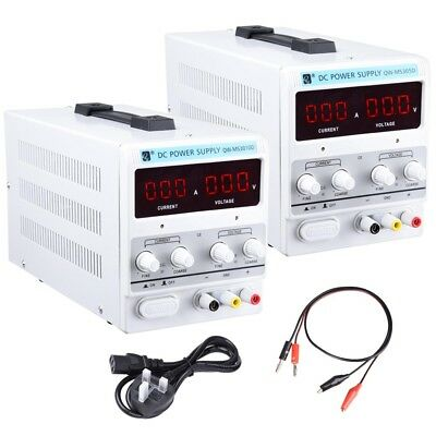 30V 5A/10A DC Power Supply Precision Variable Digital Adjustable Lab Grade Test