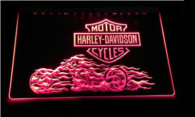 Harley Davidson Motorcycle Neon Enseigne LED Sign