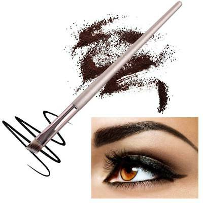 1Pc Professional Elite Angled Eyebrow Brush Eye Liner Brow Makeup Tool New