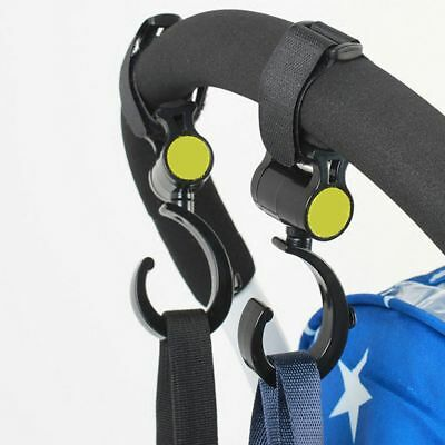 Fashion Practical Trolley Hanger Bag Carrier Holder 360 Degree Stroller Hook