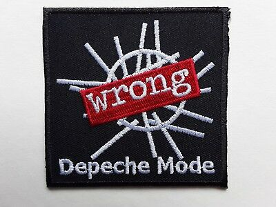 Depeche Mode English New Wave Electronic Music Band Embroidered Patch Uk Seller