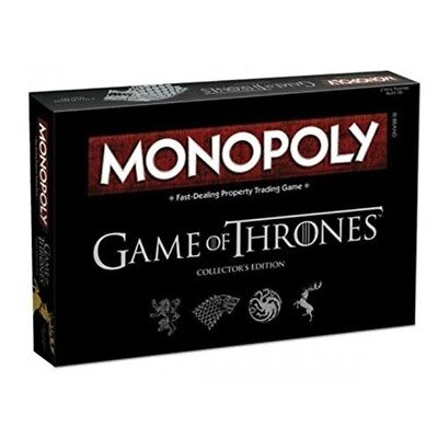 Game of Thrones Edition Monopoly Official Licensed Product