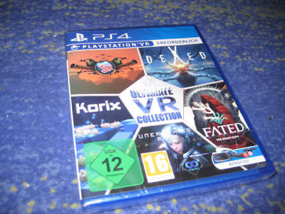 Ultimate vr Collection PSVR PS4 Korix, Dexed, Bandit Six, Fated usw. NEUWARE