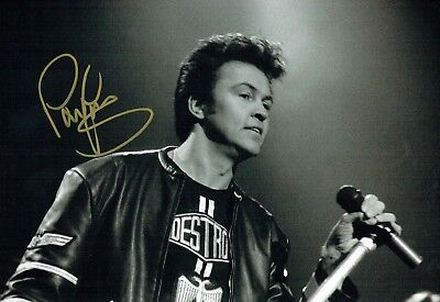 Paul YOUNG SIGNED Autograph 12x8 Photo 4 AFTAL COA 80's Pop Music Singer