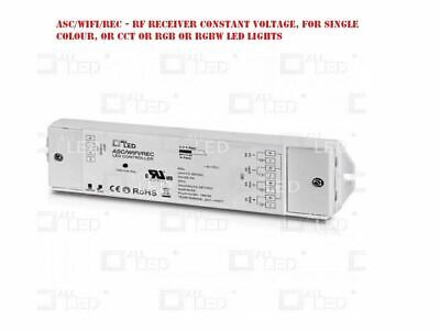 Asc/Wifi/Rec Rf Receiver Constant Voltage For Single Colour ,Cct, Rgbw Led Light