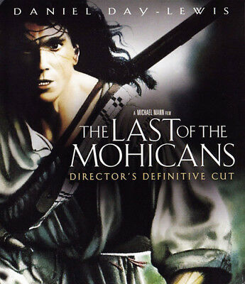 The Last of the Mohicans (1992 Daniel Day-Lewis) (Directors Cut) BLU-RAY NEW