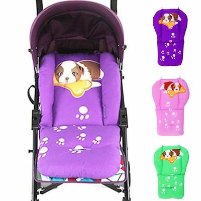 Cotton Thick Universal Baby Pushchair Mat Seat Cushion Stroller Pad Cart Liner