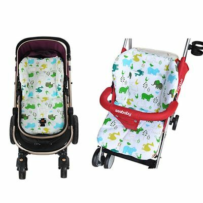 Universal Thick Cotton Seat Cushion Baby Pushchair Mat Stroller Pad Cart Liner