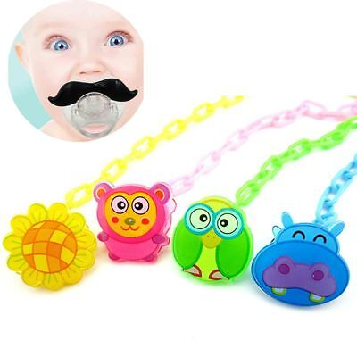 Soother Strap Teething Teether Holder Baby Pacifier Clip Nipple Dummy Chain