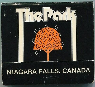 Matchbook @ The Park Hotel @ Niagara Falls , Canada @ Unmarked @