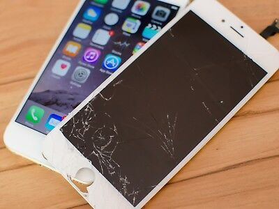 Apple iPhone 6 Cracked Glass Broken Screen Repair Mail in Service OEM