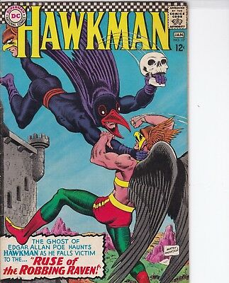 Hawkman #17 (Dec-Jan 1967, DC) VF