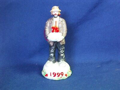 The Emmett Kelly Jr Collection Exclusively For Christmas 1999