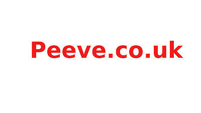 Peeve.co.uk - Dictionary Domain Name.