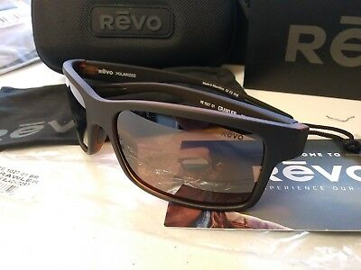ae631ef251b REVO CRAWLER RE1027 01 BR Matte Black Tortoise  Terra Lens POLARIZED  Sunglasses
