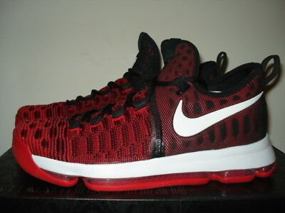 pretty nice 02b19 faefd ... new zealand mens nike kd 9 size 11 hard work kevin durant black red  bred 843392