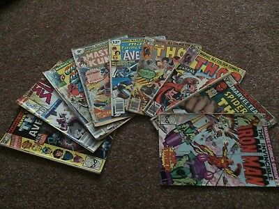 COMICS (66 marvel issues) 2 DC, Iron Man, Thor, Hulk, Flash, Silver Surfer...