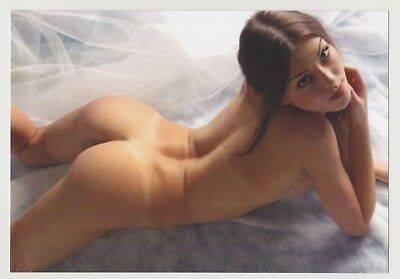 Postcard Pinup Risque Nude Stunning Girl Extremely Rare LAST ONE Post Card 8170