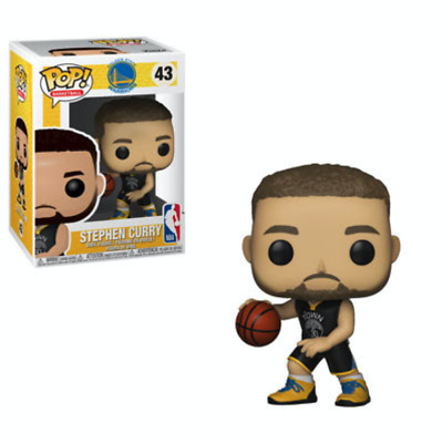 Funko POP! NBA: Warriors - Stephen Curry #43