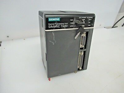 Siemens Simatic Ti430 Central Processing Unit Ti430-Cpu