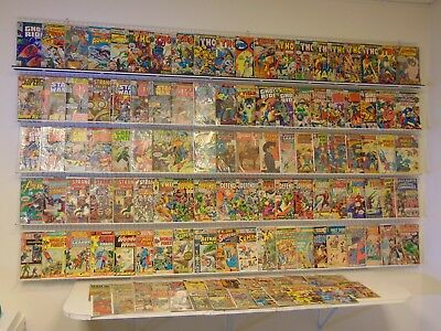 Lot of 120+ Silver/Bronze comics w/ Spider-Man, Thor, Ghost Rider & more!