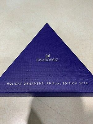 Swarovski Annual Holiday Snowflake Ornament Red 2018 #5460487