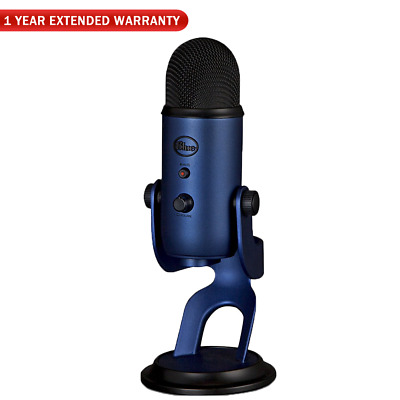 Blue Microphones Yeti USB Desk Mic-MidnightBlue+1 YEAR Extended Warranty