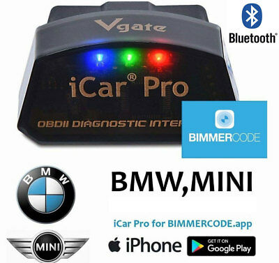 VGATE ICAR PRO Bluetooth 4.0 OBD2 Car Diagnostic Scan Tool iPhone Android Bimmer