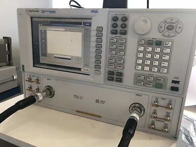 Leasing E8364C E8364B 10 MHz - 50 GHz vector network analyzer  (Agilent)